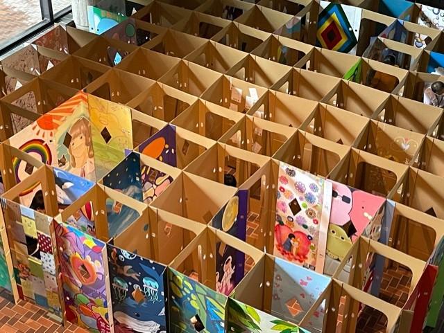 熊本県立美術館ボランティア~巨大迷路名作