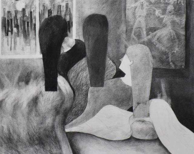 「言葉」を美術で表現する
